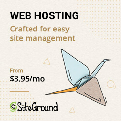 special pricing on Siteground Hosting