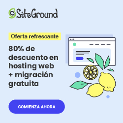 Oferta hosting Siteground para Woocommerce